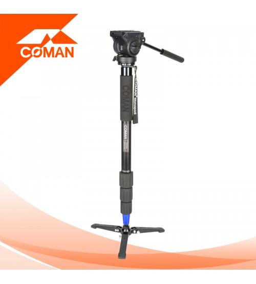 Coman DX-428AQ5 Aluminum Monopod