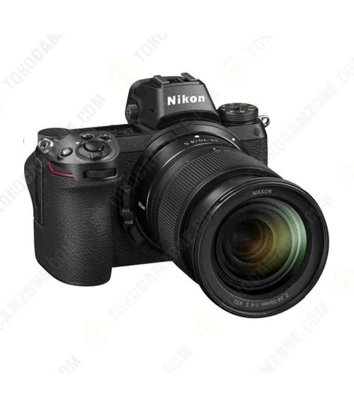Nikon Z6 Mirrorless Digital Camera Kit 24-70mm Lens with FTZ Mount Adapter Kit (Promo Cashback Rp 3.000.000 + XQD 32GB + Nikon Z T-Shirt + Calendar Nikon 2020 + Voucher Z Lens (Kecuali Lens Noct) senilai Rp 3.000.000)