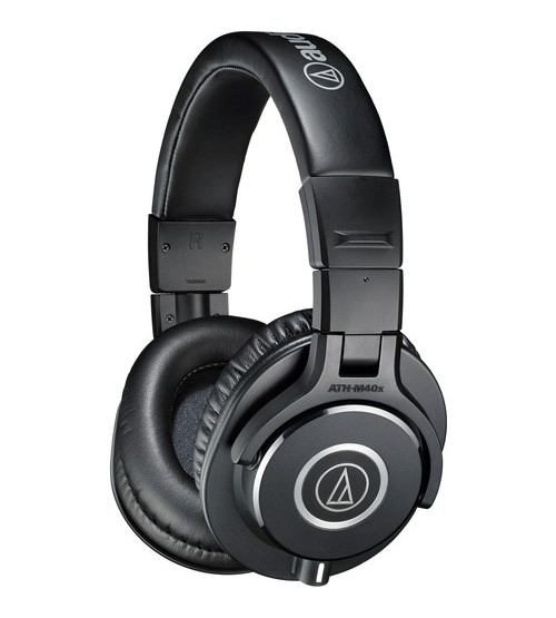 Audio-Technica ATH-M40x Over-Ear Professional Monitor Headphone