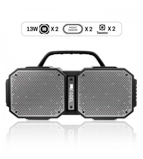 Eggel Fortis Waterproof Portable Bluetooth Speaker