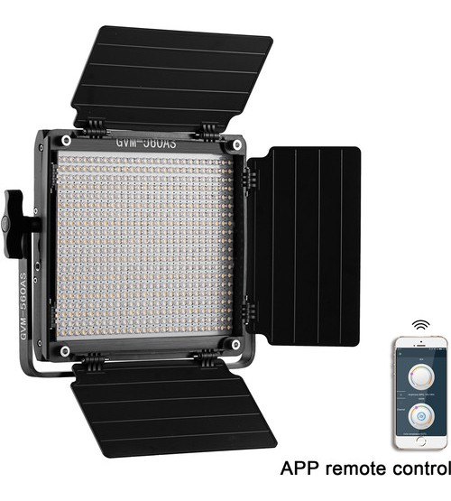 GVM 560AS LED Studio Video Light