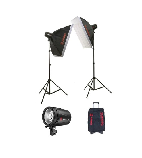 Paket Studio Jinbei D250 With Softbox