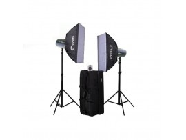 Paket Studio Rams L-32 Softbox Kit 2 Head
