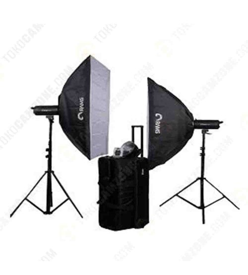 Paket Studio Rams H-60 with Softbox and Stand
