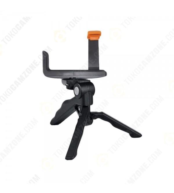 ... Smartphone 2 in 1 Portable Mini Folding Tripod For DSLR , Action Cam, Smartphone