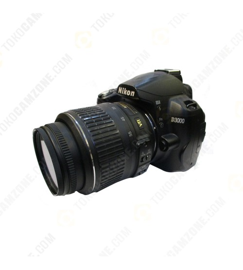 Used..!! Nikon D3300 Kit 18-55mm VR [Kode: 125]