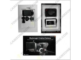 Used..!! Blackmagic Design Cinema Camera with EF Mount