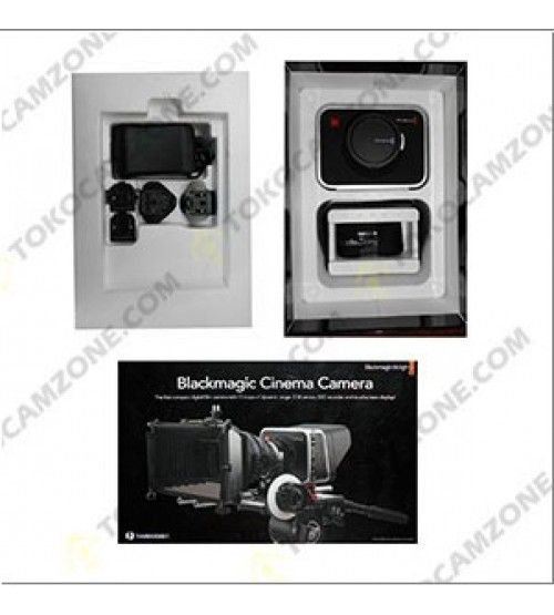 Used..!! Blackmagic Design Cinema Camera with EF Mount