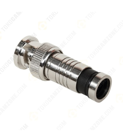 BNC Compression Male Connector RG59 TW