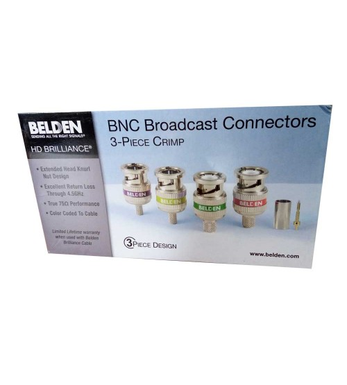Belden Connector BNC Crimp for Video Cable