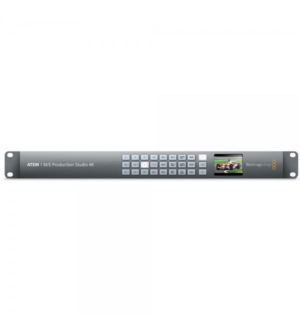 blackmagic design atem production studio 4k live switcher manual