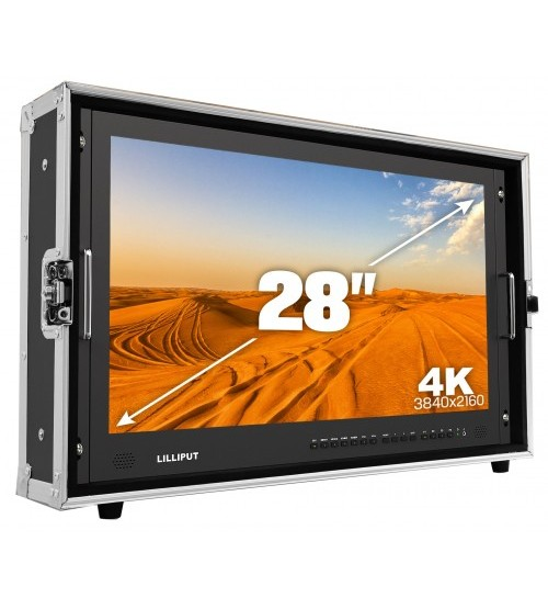 Lilliput BM280-4K - 28 4K monitor with HDMI and SDI connectivity