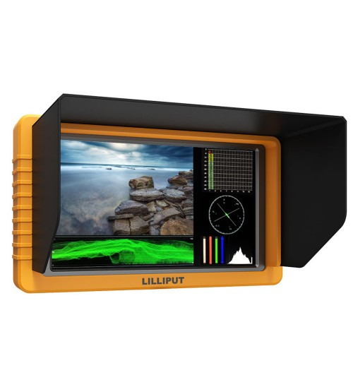 "Lilliput Q5 Full HD Metal Frame 5"" SDI Monitor with HDMI/SDI Cross Conversion"