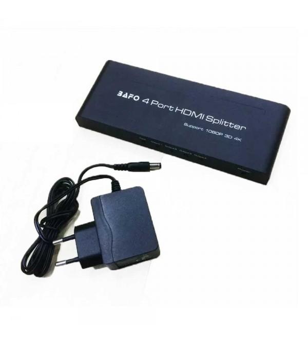 Bafo A5-0004B1 HDMI Splitter 4 Port 4K*2K