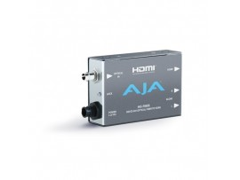 AJA Hi5-Fiber 3G-SDI over Fiber to HDMI Video and Audio Converter