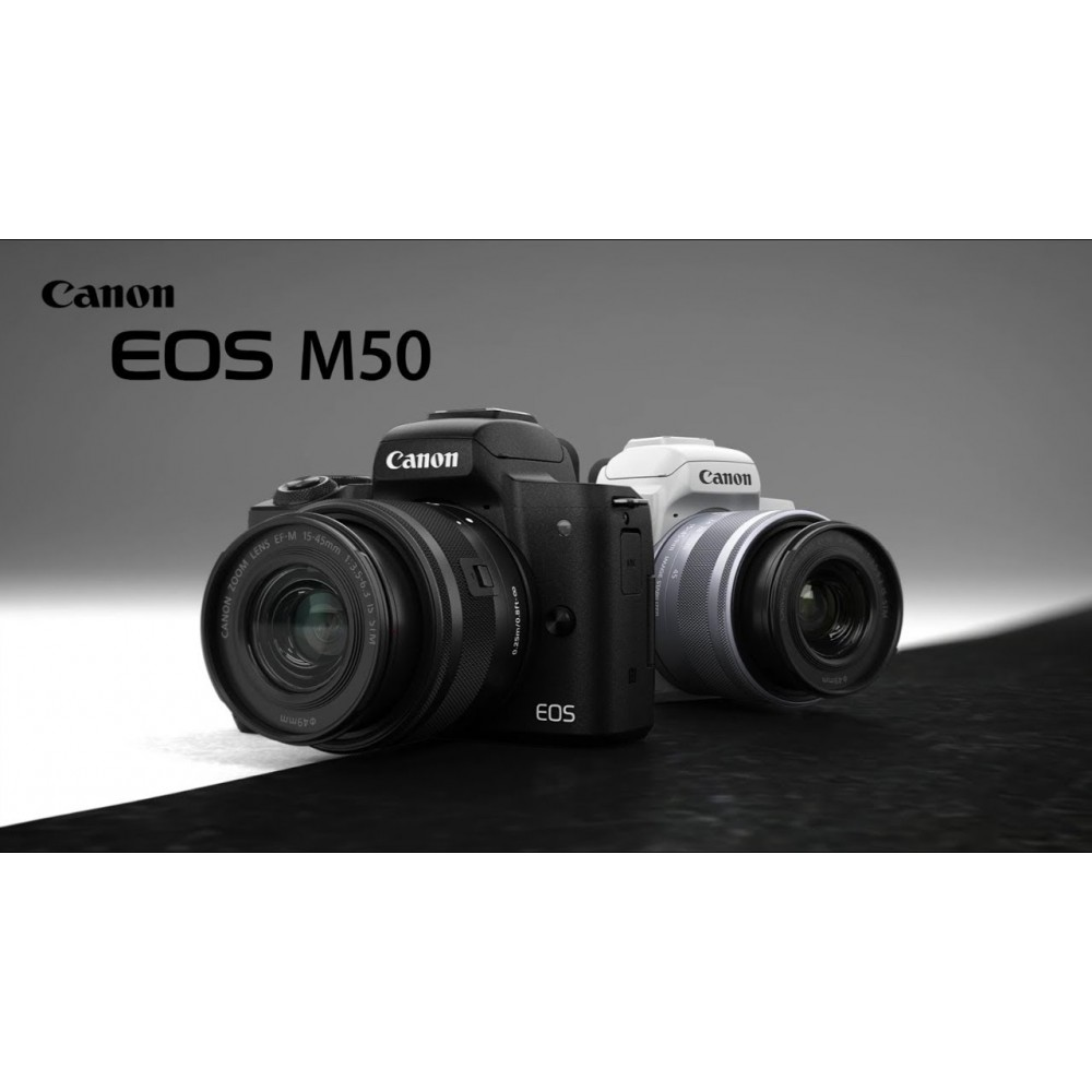 Canon EOS M50 MIRRORLESS TERBARU YANG AKAN HADIR DI 2018