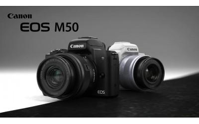 Canon EOS M50 MIRRORLESS TERBARU YANG AKAN HADIR DI 2018