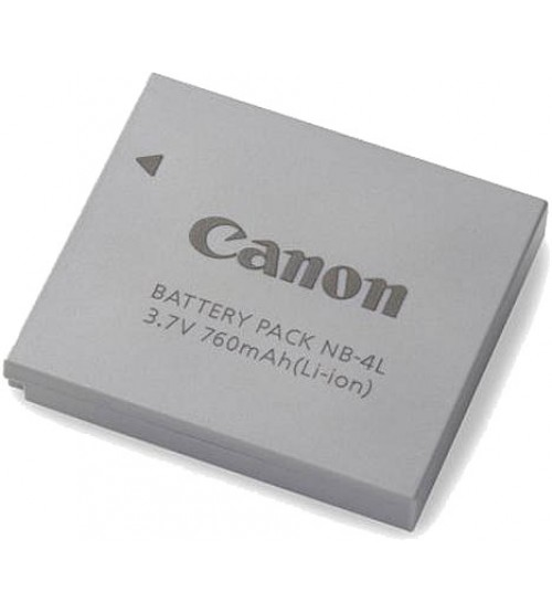 Canon Battery NB-4L for Ixus 100 IS / 110 IS / 115 HS / 130 IS / 220 HS / 230 HS / 255