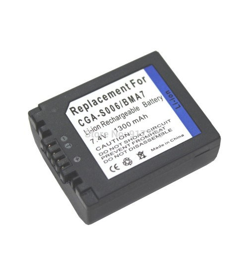 Panasonic Battery CGA-S006 For FZ30 / FZ18 / FZ8 / FZ7 / FZ50