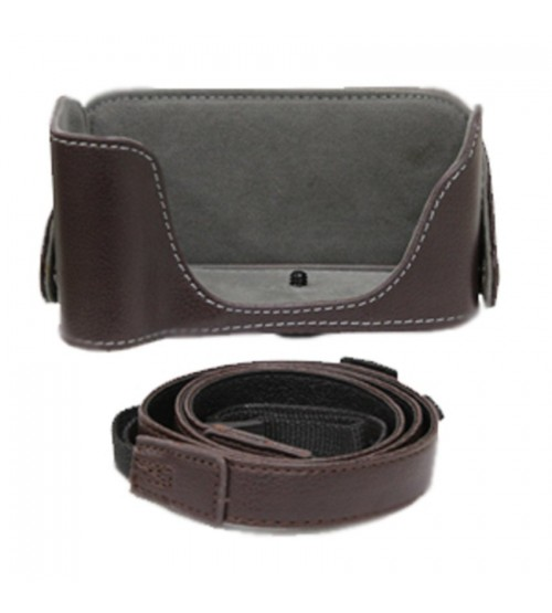 Leather Case With Strap For Canon EOS 1200D/ 600D/ 700D