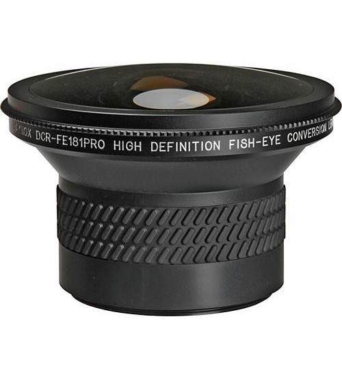 Raynox DCR-FE181 Pro HD Fisheye Conversion Lens Include Adapter Ring (43,52,55,58,62)