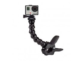 GP235 / GP152 Jaws Flex Clamp + 7 Joint Adjustable Gooseneck For GoPro