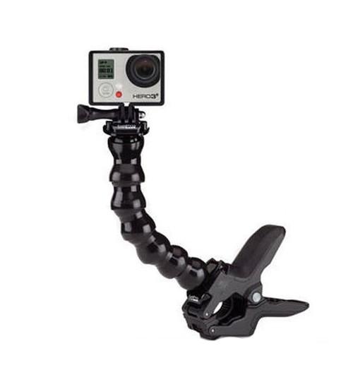 GP235 / GP152 Jaws Flex Clamp + 7 Joint Adjustable Gooseneck For GoPro