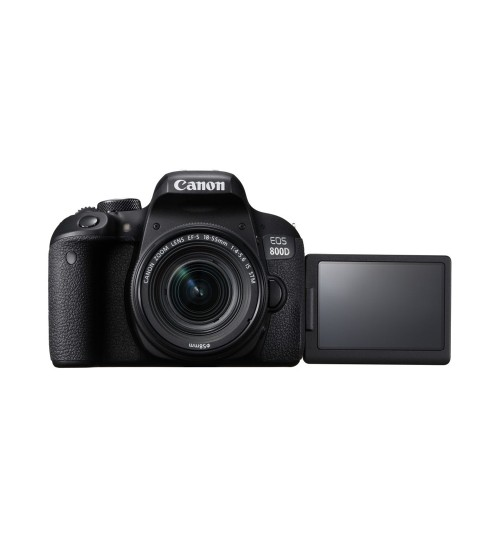 Canon EOS 800D Kit 18-55mm (Promo Cashback Rp 800.000 Periode s/d 31 Oktober 2020)