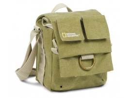 National Geographic Earth Explorer National Geographic 2344 Small Shoulder Bag (Khaki) 91