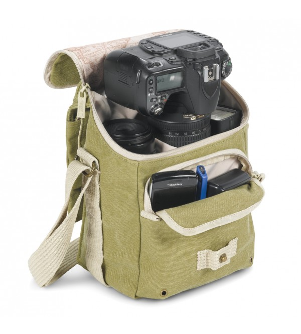 National Geographic Earth Explorer National Geographic 2344 Small Shoulder Bag (Khaki) 59
