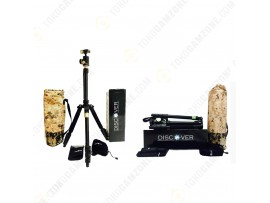 Discover Professional Tripod Gold/Green